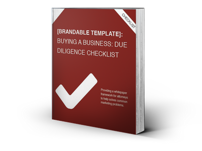 Buying a Business: Due Diligence Checklist